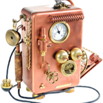 steam punk telephone