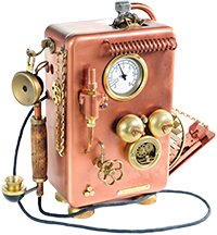 steam punk telephone